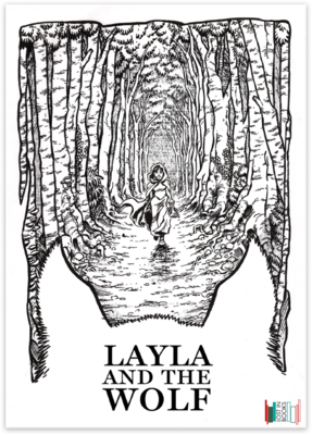 Postcard - Layla And The Wolf