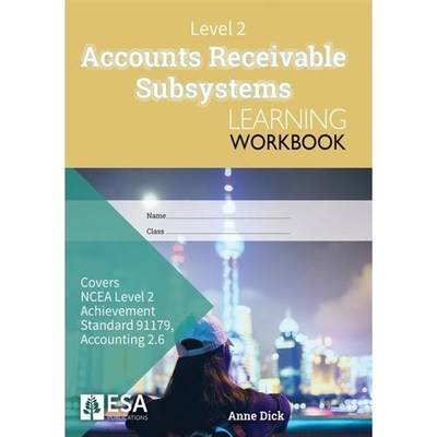 Level 2 Accounts Receivable Subsystems 2. 6 Learning Workbook