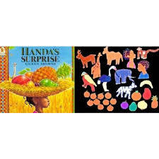 Large handas surprise book and story board set