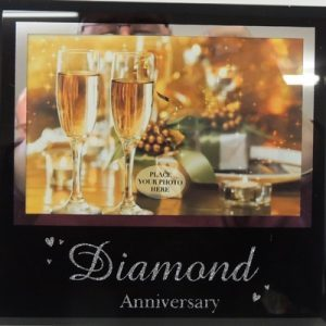 diamond anniv frame