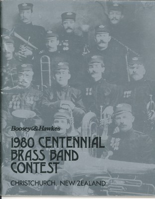 1980 Centennial Brass Band Contest