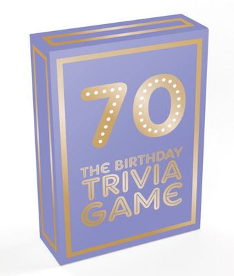 70 - the Birthday Trivia Game