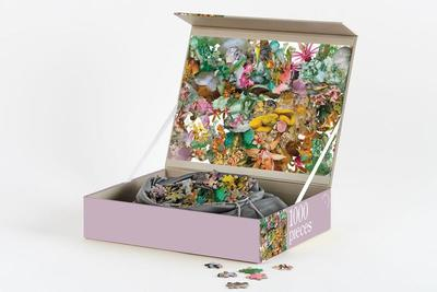 The Flora Edition Jigsaw Puzzle 1000 Pieces