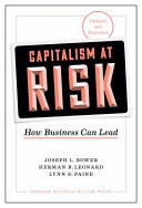 Capitalism at Risk - How Business Can Lead