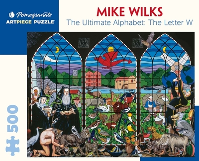 Mike Wilks The Ultimate Alphabet Letter W 500pcs