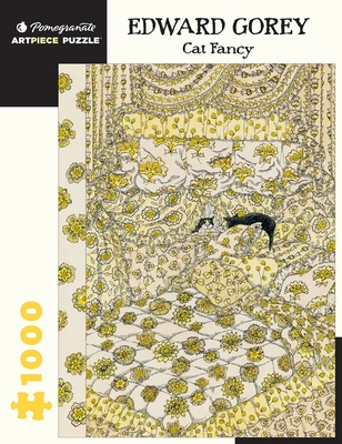 Edward Gorey: Cat Fancy 1,000 piece Jigsaw