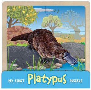 My First Platypus Wooden Puzzle