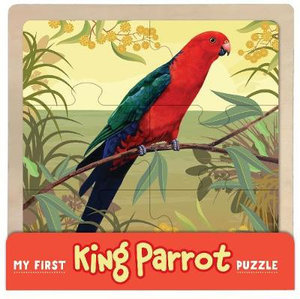 My First King Parrot Wooden Puzzle