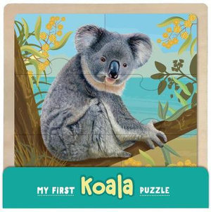 My First Koala Wooden Puzzle