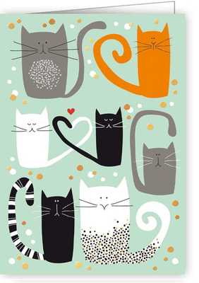 Card - Cats Tag