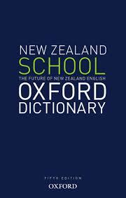Large the new zealand oxford school dictionary 2
