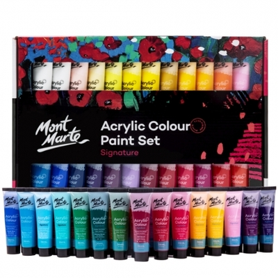 Signature Acrylic Paint Set 48pc x 36ml (1.2oz) MSCH4836