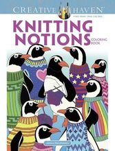 Homepage creative haven knitting notions coloring book