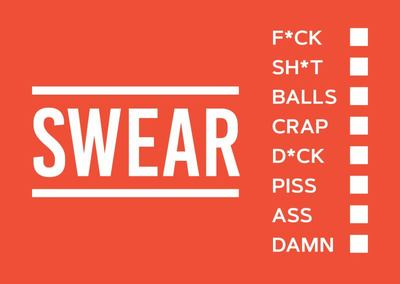 Swear Vouchers - The Filthy Way to Say What You Really Think