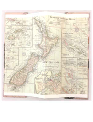 Bookmark - The New Zealand Map 1902