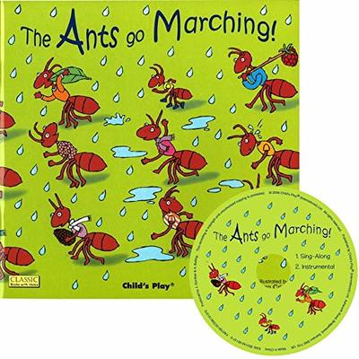 The Ants Go Marching - Classic Book with Holes and CD