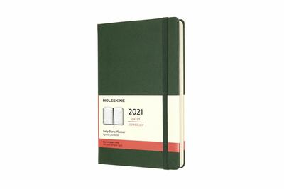 2021 Daily Green Large Hardcover Diary Moleskine