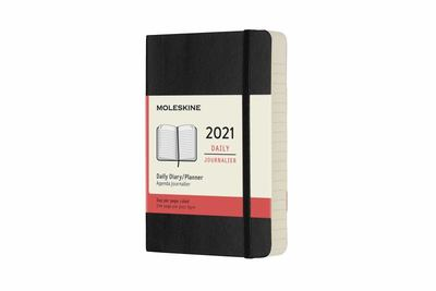 2021 Daily Black Pocket Softcover Diary Moleskine