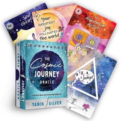 The Cosmic Journey Oracle - A 55-Card Deck and Journaling Guidebook