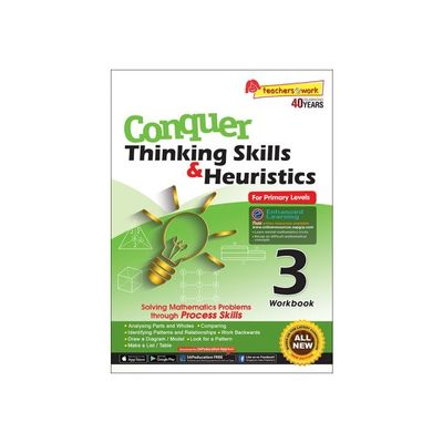 Conquer Thinking Skills & Heuristics for Primary Level 3 Workbook