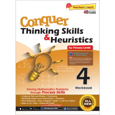 Conquer Thinking Skills & Heuristics for Primary Level 4 Workbook