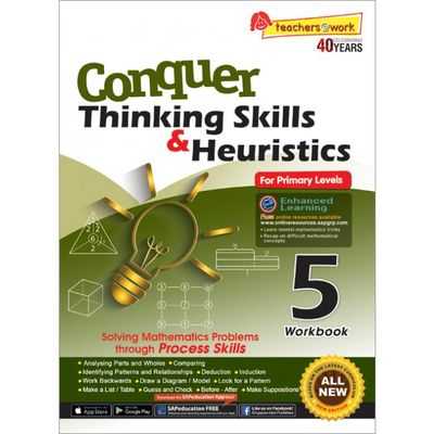 Conquer Thinking Skills & Heuristics for Primary Level 5 Workbook