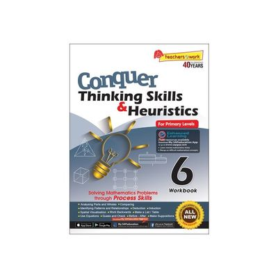 Conquer Thinking Skills & Heuristics for Primary Level 6 Workbook