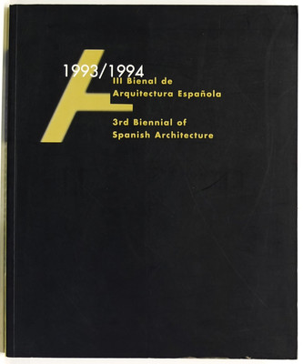 3rd Biennial of Spanish Architecture 1993/1994
