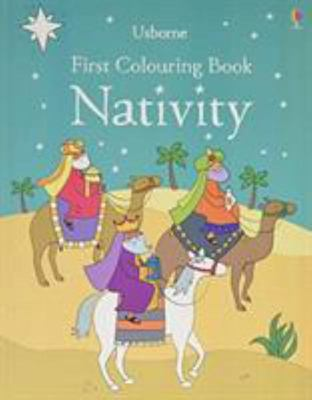 First Colouring Book: Nativity