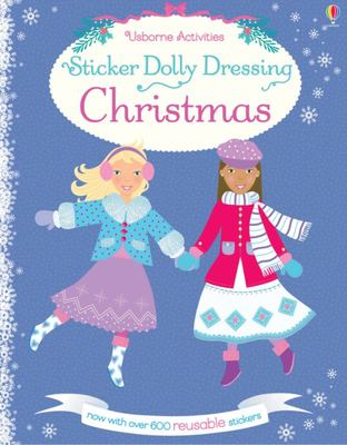 Sticker Dolly Dressing/Christmas