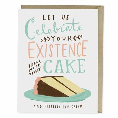 Card - Celebrate with Cake Birthday