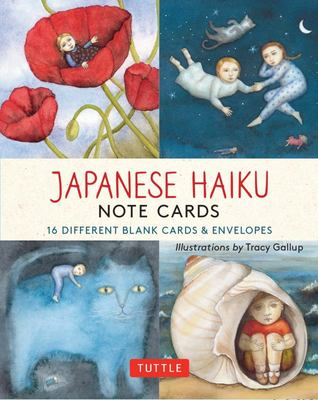 Japanese Haiku Note Cards: 16 Different Blank Card & Envelopes
