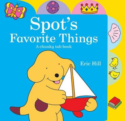 SPOTS FAVOURITE THINGS BOARD BOOK