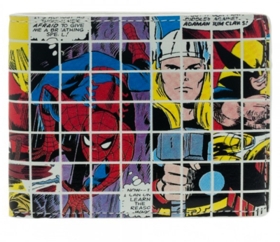 Marvel Grid Wallet