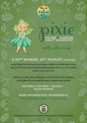 Pixie House + Garden Craft Workshop with Ailsa Wild