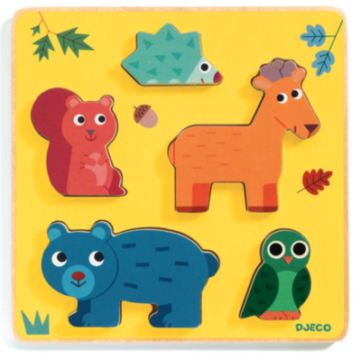 Djeco Frimours Forest Puzzle