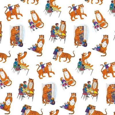 The Tiger Who Came to Tea Wrapping Paper