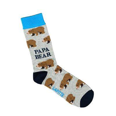 Socks Bears Grey (19BEAGRE)