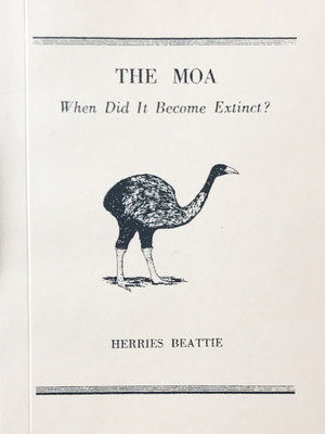 The Moa - When Did It Become Extinct?