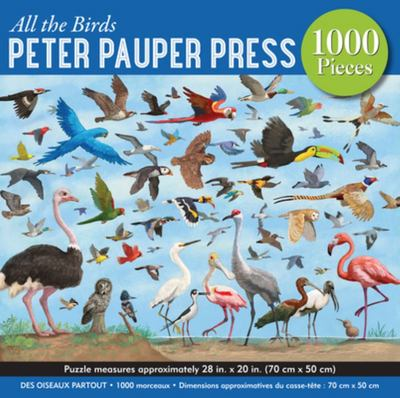 All The Birds: 1000-piece Jigsaw Puzzle (4934) Peter Pauper