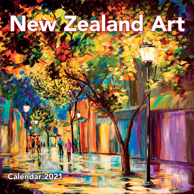 NZ Art Wall Calendar 2021