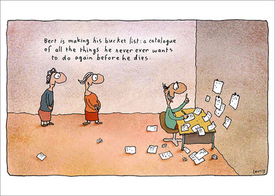 Leunig - Bucket List