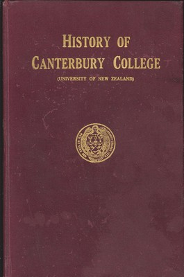History of Canterbury College (University of New Zealand)