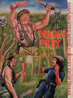 Deadly Prey - Hand-Painted Movie Posters from Ghana