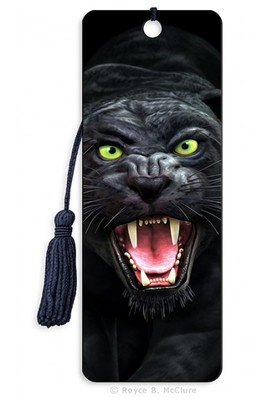 Black Panther 3D Bookmark