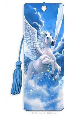 Pegasus 3D Bookmark