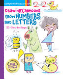 Drawing Cartoons from Numbers and Letters - 125+ Step-by-Steps