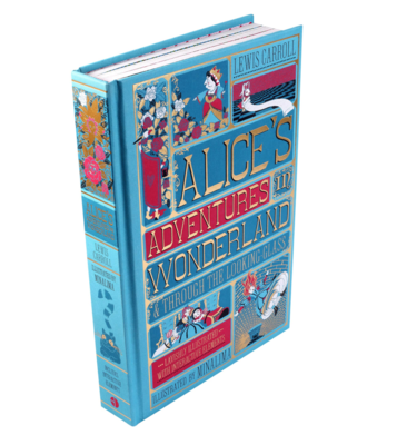 Alice's Adventures in Wonderland and Through the Looking-Glass (Minalima Classics)