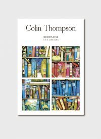 BIP 0612 Colin Thompson Bookshelf Bookplates 12pk