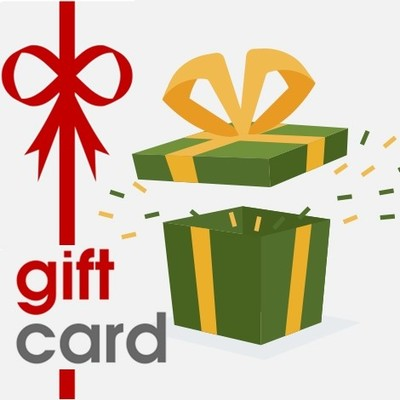 Large gift card